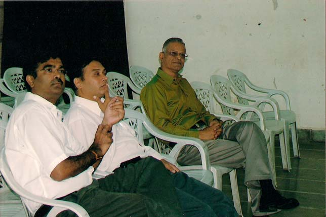 Far right Dr. Girish Saoji