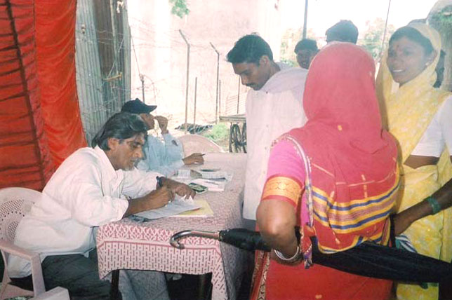 Shaukat mama busy in registration