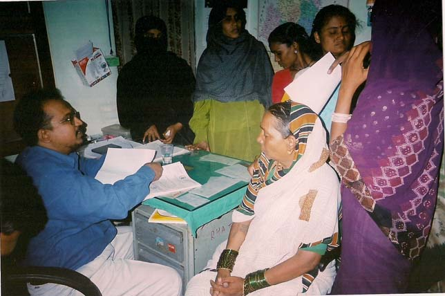 Dr. Layeequr Rahman counselling relatives